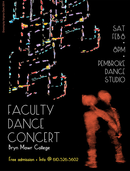 faculty dance postcardsm