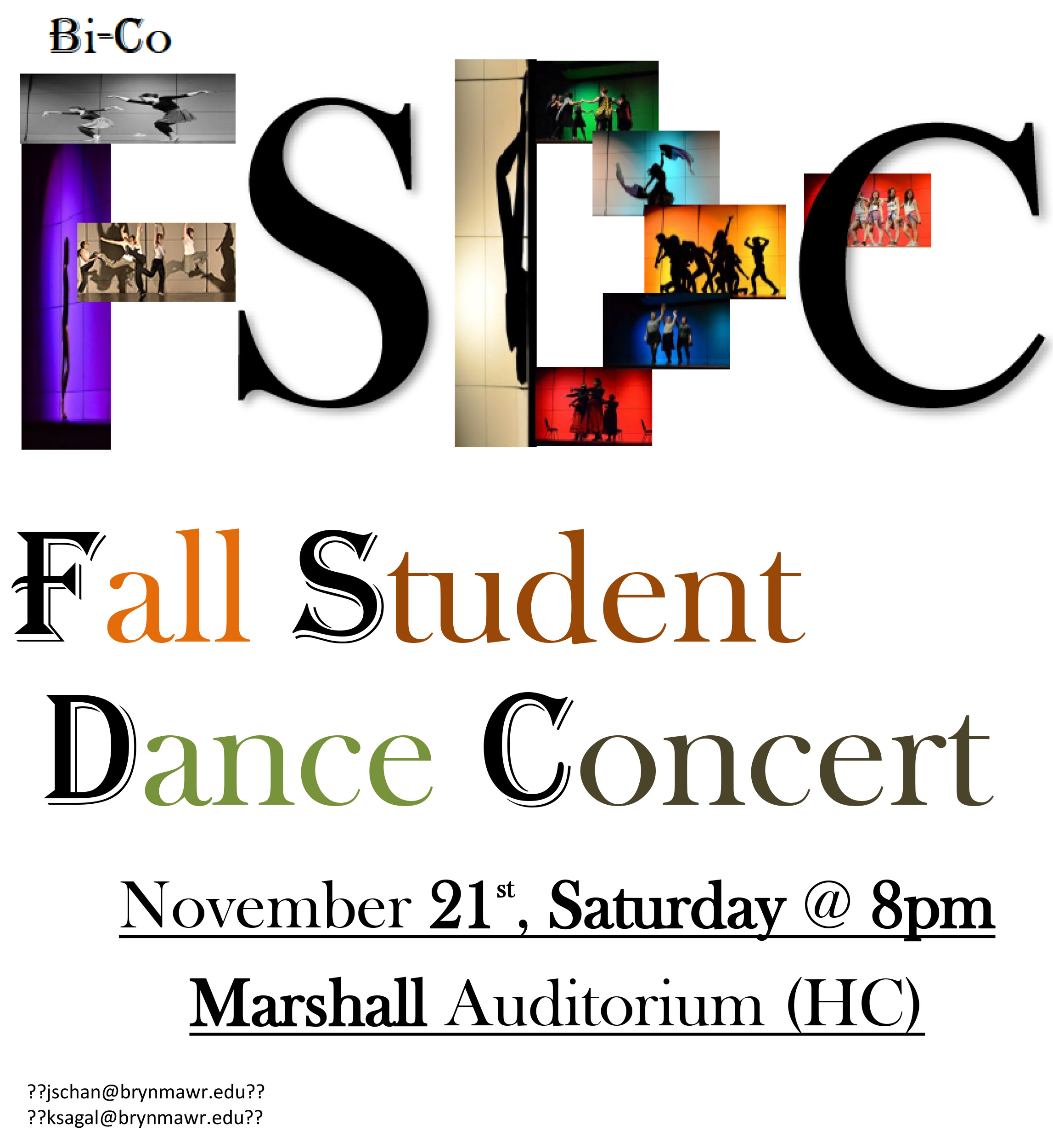 Fall Student Dance Concert Flier 2015 Final BLOG